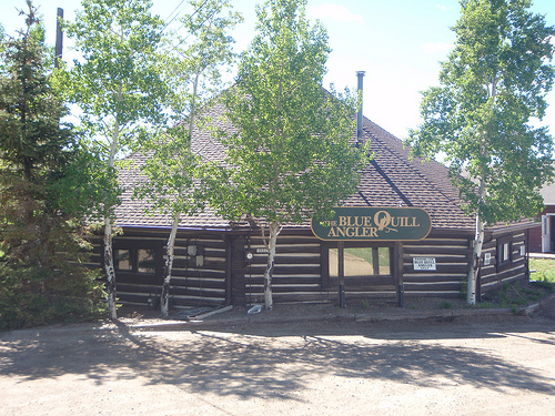 The Blue Quill Angler Fly Fishing Shop in Evergreen, Colorado