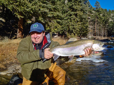 Guided Fly Fishing Trips near Denver, Colorado at The Blue Quill Angler