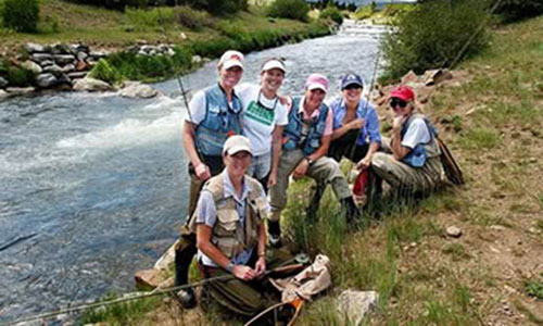 Women's Introduction to Fly Fishing Class near Denver, Colorado
